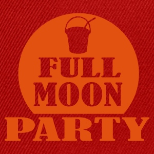 Pink full moon party Tops - Snapback Cap