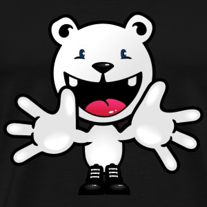 Olijfgroen Polar Bear Teddy welkom / polar bear teddy welcome (DDP) T-shirts - Mannen Premium T-shirt