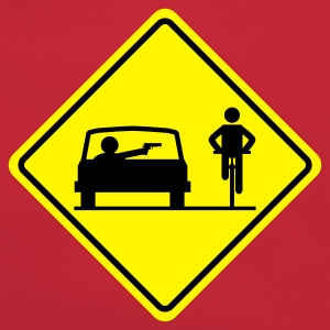 road sign Drive By Shooting - Retro Bag