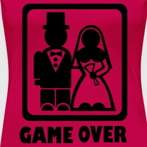 Pink Game over Tops - Frauen Premium T-Shirt