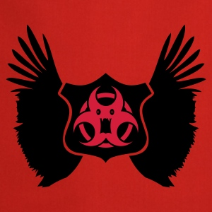 Rosso winged Biohazard Monster Emblem (2c) Top - Grembiule da cucina