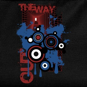 Black the way out Tops - Kids' Backpack