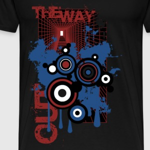 Black the way out Tops - Men's Premium T-Shirt