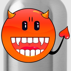 Petrol diavolo Emoticon / devil smiley (A1, DDP) Top - Borraccia