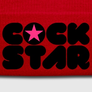 Orange Cock Star © T-Shirts - Winter Hat