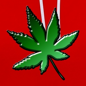 Weed Green - Sweat-shirt contraste