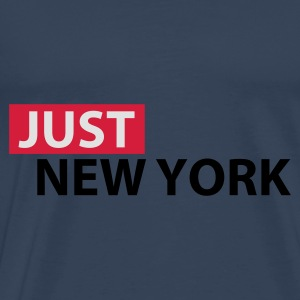 Sky blue Just New York Tops - Men's Premium T-Shirt