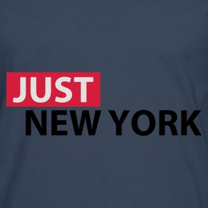 Sky blue Just New York Tops - Men's Premium Longsleeve Shirt