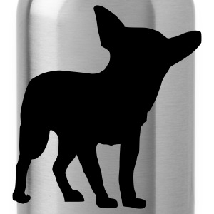 Pink Hund - Chihuahua Tops - Trinkflasche