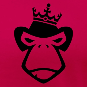 Pink King of Apes Tops - Women's Premium T-Shirt