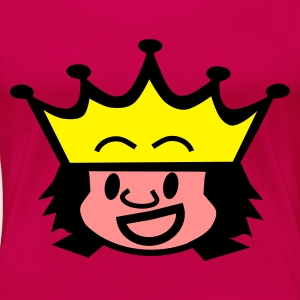 Pink king / queen Toppe - Dame premium T-shirt