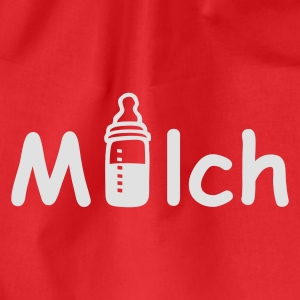 Rot Milch Tops - Turnbeutel
