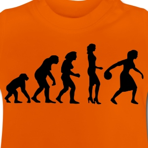 evolution_bowlerin_1c T-shirts - Baby T-shirt