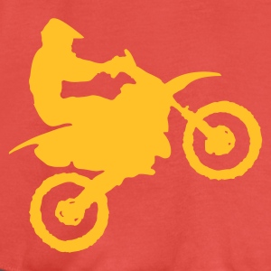 Golden orange Motocross - MX Men's T-Shirts - Women's Tank Top by Bella