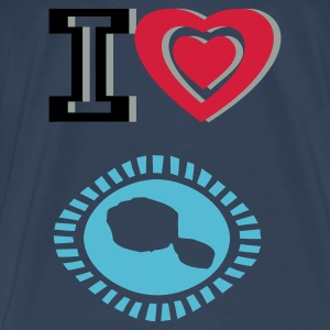 I LOVE Tahiti T-Shirt - Men's Premium T-Shirt