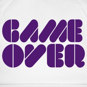 Weiß Game over Tops - Baseballkappe