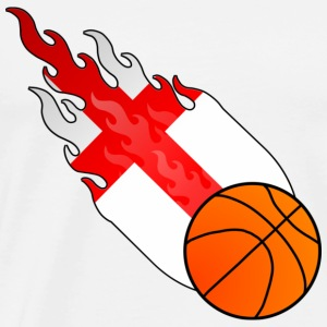Fireball Basketball England - Men's Premium T-Shirt