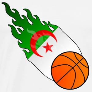 Fireball Basketball Algeria - Men's Premium T-Shirt