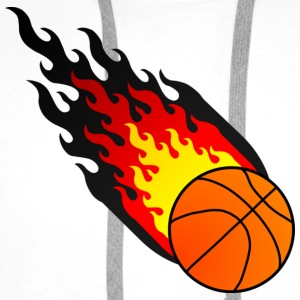 Fireball Basketball Tyskland - Premium hettegenser for menn