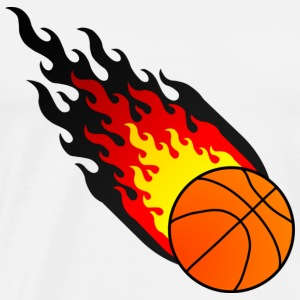 Fireball Basketball Germany - Men's Premium T-Shirt