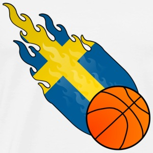 Fireball Basketball Sweden - Men's Premium T-Shirt