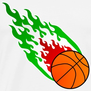 Fireball Basketball Italy - Men's Premium T-Shirt