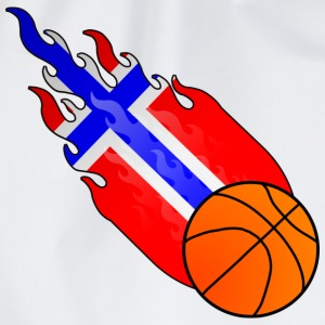 Fireball Basketball Norway - Drawstring Bag