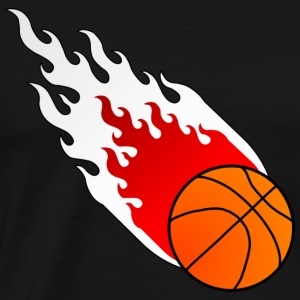 Fireball Basketball Poland - Men's Premium T-Shirt