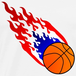 Fireball Basketball Holland - Men's Premium T-Shirt