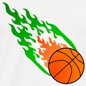 Fireball Basketball Ireland - Men's Premium T-Shirt