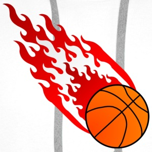 Fireball Basketball Østerrike - Premium hettegenser for menn
