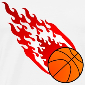Fireball Basketball Austria - Men's Premium T-Shirt