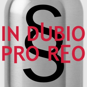 Latein: IN DUBIO PRO REO | Muskelshirt - Trinkflasche