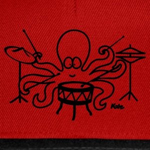 Orange Octopus T-shirts - Casquette snapback