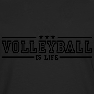 volleyball is life deluxe T-shirts - Mannen Premium shirt met lange mouwen