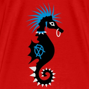 The sea horse as a punk Tops - Men's Premium T-Shirt