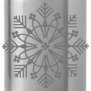 snow crystal Tops - Water Bottle