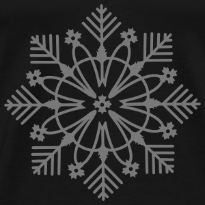 snow crystal Tops - Men's Premium T-Shirt