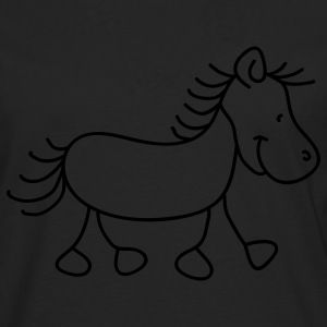 Sweet little pony Tops - Camiseta de manga larga premium hombre