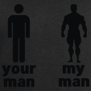 your man vs my man (choose DIGITAL DIRECT) Tops - Mannen sweatshirt van Stanley & Stella