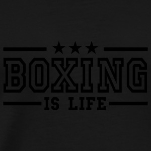 boxing is life deluxe Tops - Men's Premium T-Shirt