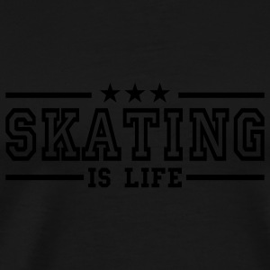 skating is life deluxe Tops - Men's Premium T-Shirt