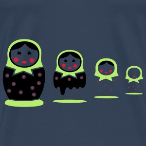 Matryoshka Tops - Men's Premium T-Shirt
