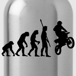 evolution_motorbike_stunt_a_1c Shirts - Drinkfles