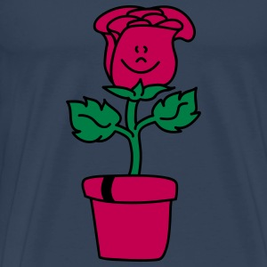 Small lovely Rose Tops - Men's Premium T-Shirt