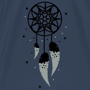A dream catcher with three feathers Tops - Men's Premium T-Shirt