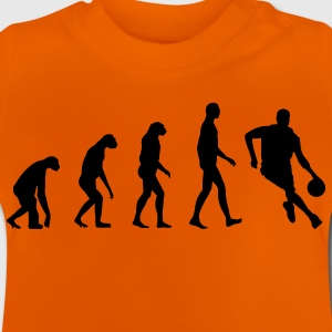 Evolution Basketball Kinder shirts - Baby T-shirt
