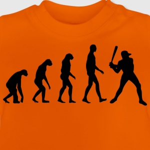 Evolution Baseball Kinder shirts - Baby T-shirt