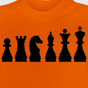 Evolution Chess Kinder shirts - Baby T-shirt