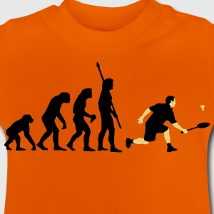 evolution_badminton_022011_c_2c T-shirts - Baby T-shirt